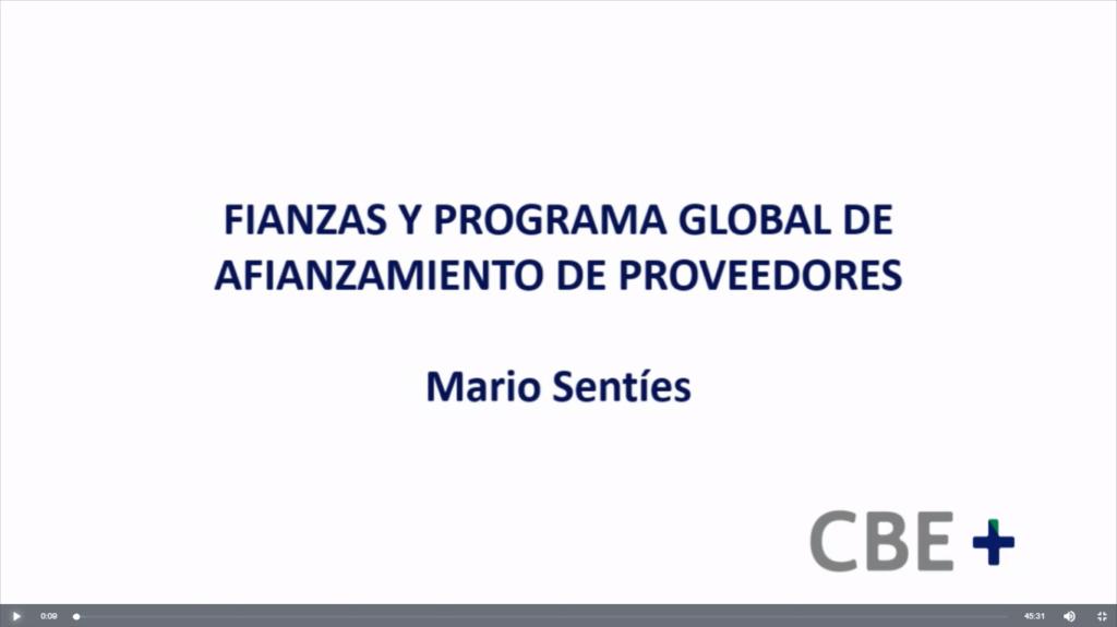 Fianzas y Programa global de afianzamiento de proveedores